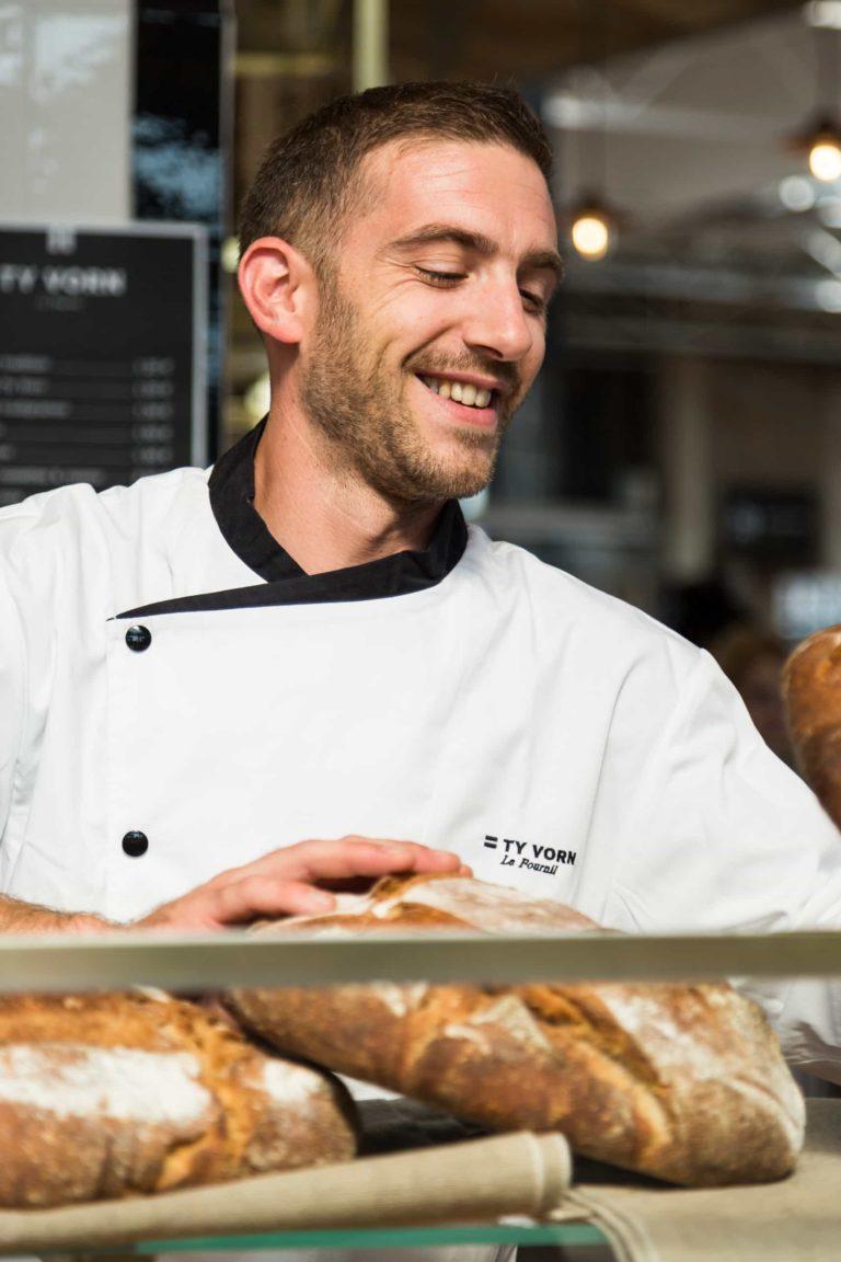 Nicolas Vauchier boulanger breton artisanal