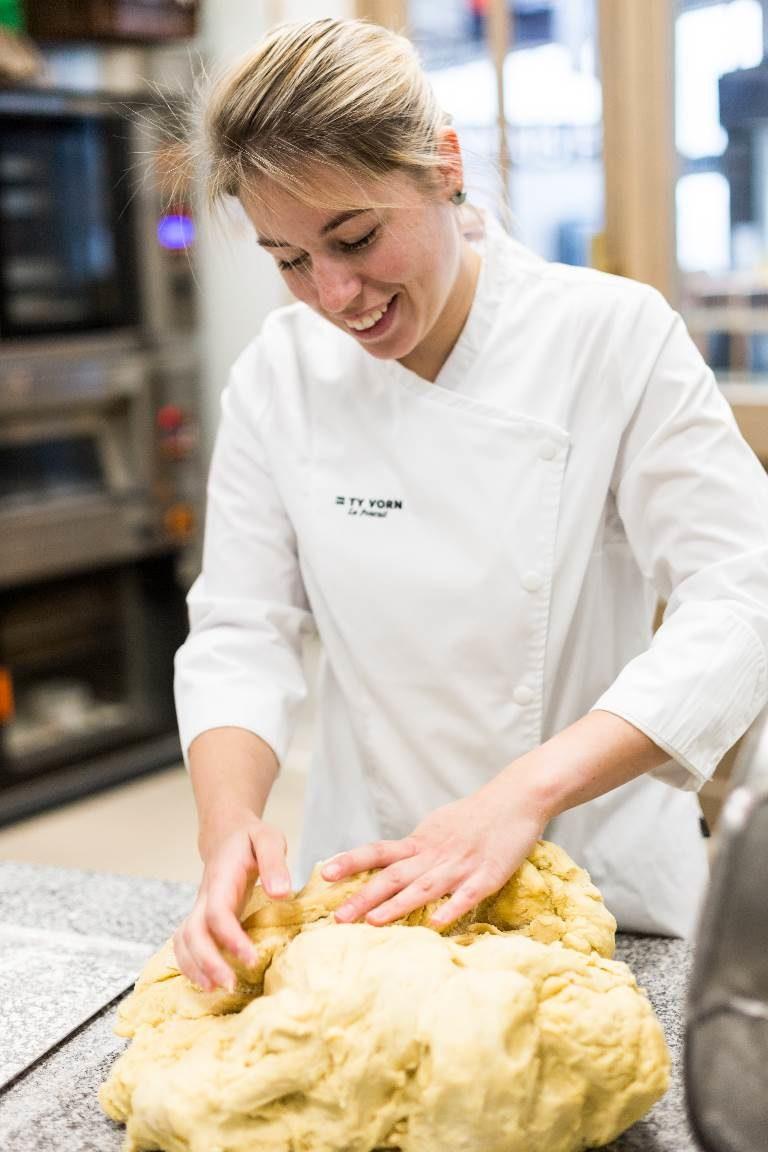 Justine Savidan pâtissière