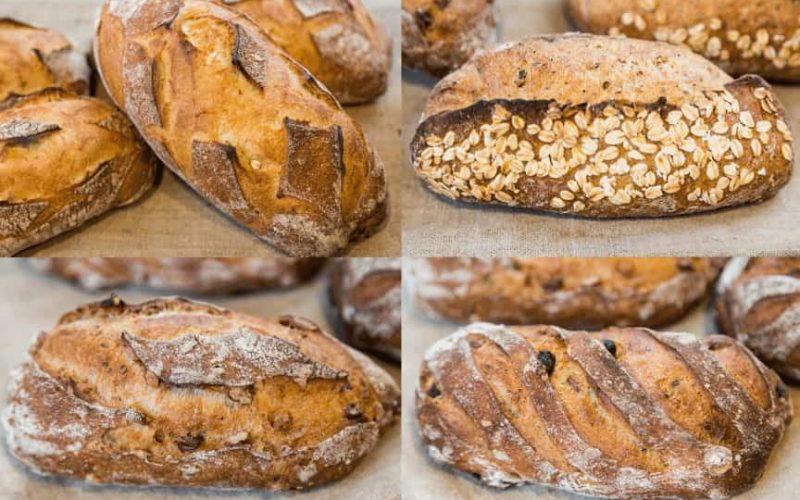Pavé noix sarrasin noisette raisin graines